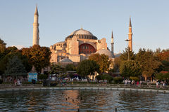 Hagia Sophia church. Royalty Free Stock Photography