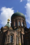 Hagia Sophia Church. Is the city landmark in Harbin, Heilongjiang Province, China Royalty Free Stock Photography