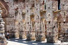 Hagia Sophia Church i Nesebar, Bulgarien Arkivbild