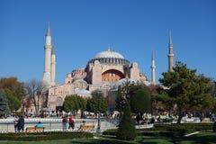 Hagia Sophia church in Istanbul. ISTANBUL, TURKEY - CIRCA NOVEMBER 2016: Hagia Sophia church of the Holy Wisdom Royalty Free Stock Photography