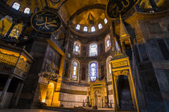 Hagia Sophia church Istanbul Turkey Royalty Free Stock Photos