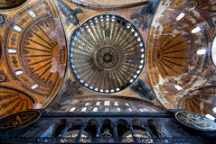 Hagia Sophia. The Hagia Sophia church/mosque in Istanbul, Turkey Royalty Free Stock Image