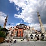 Hagia Sophia Church(Museum) Stock Photo