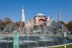 Hagia Sophia church transformed to mosque. Turkey, Istambul Royalty Free Stock Image