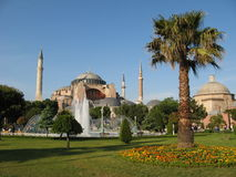 Hagia Sophia Costantinopoli Fotografia Stock