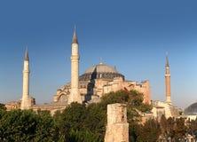 Hagia Sophia a Costantinopoli Fotografie Stock Libere da Diritti