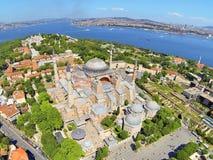 Hagia Sophia a Costantinopoli Immagine Stock Libera da Diritti