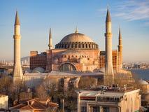 Hagia Sophia, Costantinopoli Immagine Stock Libera da Diritti