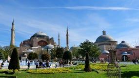 Hagia Sophia, Costantinopoli Fotografia Stock Libera da Diritti