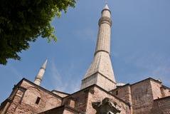 Hagia Sophia a Costantinopoli Fotografia Stock