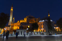 Hagia Sophia, Costantinopoli, Turchia Immagine Stock Libera da Diritti