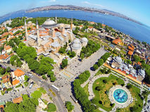 Hagia Sophia, Costantinopoli, Turchia Fotografia Stock Libera da Diritti