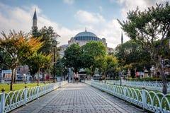 Hagia Sophia a Costantinopoli, Turchia Fotografia Stock Libera da Diritti