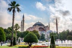 Hagia Sophia a Costantinopoli, Turchia Fotografie Stock Libere da Diritti