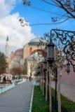 Hagia Sophia, Costantinopoli, Turchia Fotografie Stock Libere da Diritti