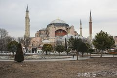 Hagia Sophia Dome Stock Photography