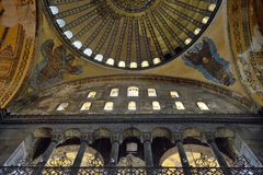Hagia Sophia Dome Royalty Free Stock Images