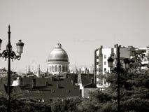 Hagia Sophia is een vroegere Orthodoxe patriarchale basiliek, later een moskee, en nu een museum in Istanboel, Turkije Royalty-vrije Stock Foto