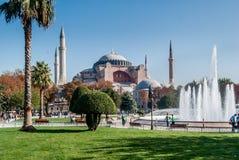 Hagia Sophia el día soleado, Estambul, Turquía Fotos de archivo