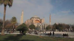 Hagia Sophia eller Ayasophya, berömd moské i Istanbul