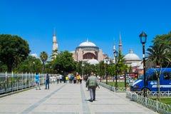 Hagia Sophia em Istambul, Turquia imagens de stock