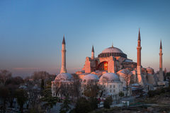 Hagia Sophia em Istambul, Turquia Imagens de Stock Royalty Free