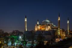 Hagia Sophia em Istambul, Turquia Imagem de Stock