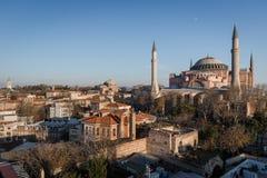 Hagia Sophia em Istambul, Turquia Imagem de Stock Royalty Free