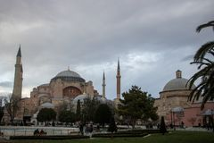 Hagia Sophia em Istambul foto de stock