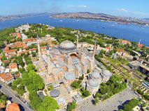 Hagia Sophia en Estambul Imagen de archivo libre de regalías