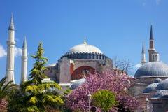 Hagia Sophia en Estambul, Turquía Imagenes de archivo