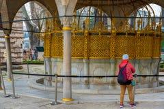 Hagia Sophia, en grekisk ortodox kristen patriark- basilika royaltyfria foton