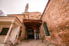 Hagia Sophia, en grekisk ortodox kristen patriark- basilika arkivfoton
