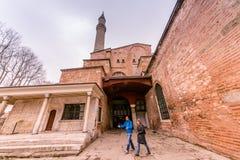 Hagia Sophia, en grekisk ortodox kristen patriark- basilika royaltyfri bild