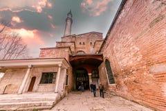 Hagia Sophia, en grekisk ortodox kristen patriark- basilika arkivbilder