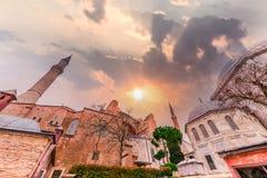 Hagia Sophia, en grekisk ortodox kristen patriark- basilika fotografering för bildbyråer