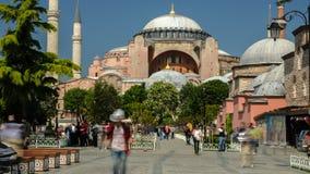 Hagia Sophia, Estambul, Turquía almacen de metraje de vídeo