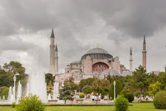 Hagia Sophia Exterior Royalty Free Stock Photo