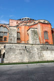 Hagia Sophia. Is the greatest monument of Byzantine Culture in Istanbul, Turkey royalty free stock photos