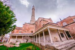 Hagia Sophia, grekisk ortodox kristen patriark- basilika royaltyfri fotografi