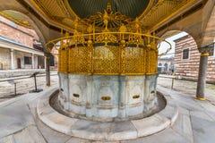 Hagia Sophia, grekisk ortodox kristen patriark- basilika royaltyfria foton
