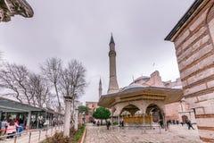 Hagia Sophia, grekisk ortodox kristen patriark- basilika arkivfoto