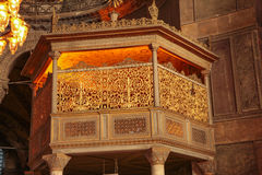 Hagia Sophia Hünkâr Mahfili Stock Images