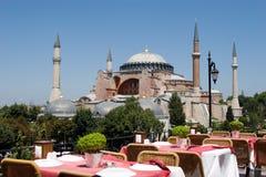 Hagia Sophia i Istanbul Turkiet fotografering för bildbyråer