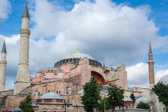 Hagia Sophia in Instanbul Royalty Free Stock Images