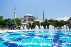 Hagia Sophia in Instanbul Stock Photo