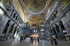 Hagia Sophia (intérieur) Photo stock