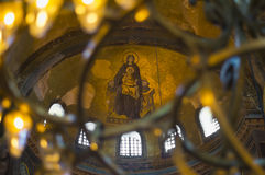 Hagia Sophia Interior Royalty Free Stock Photos