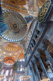 Hagia Sophia Interior Stock Photo
