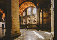 Hagia Sophia. Interior of the famous Hagia Sophia museum in Turkey Stock Images